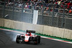 Alexander Rossi, Manor Marussia F1 Team, mit Verbremser