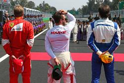 Will Stevens, Manor Marussia F1 Team op de grid