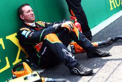 Sahara Force India F1 Team monteur op de grid