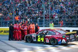 Winnaar Jeff Gordon, Hendrick Motorsports Chevrolet