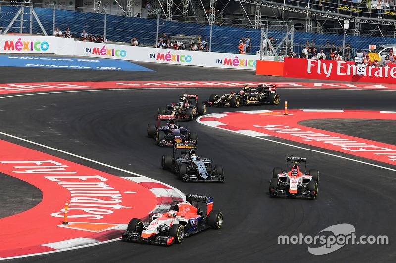Уилл Стивенс и Алекс Росси, Гран При Мексики