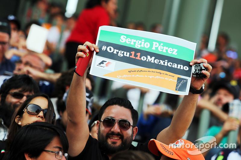 Sergio Perez, orgulho nacional