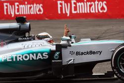 刘易斯•汉密尔顿(梅赛德斯W06)第二名完赛
