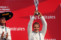 Podium: Derde Valtteri Bottas, Williams