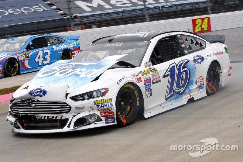 NASCAR - Greg Biffle, Roush Fenway Racing Ford