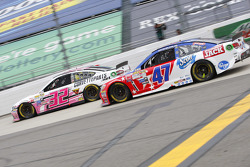 Kyle Fowler, Go FAS Racing Ford; A.J. Allmendinger, JTG Daugherty Racing Chevrolet