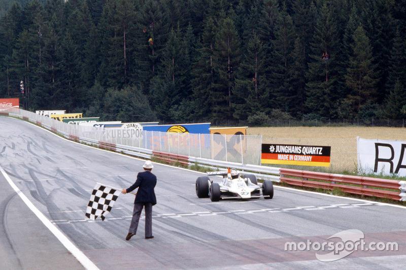 Alan Jones, Williams meraih kemenangan