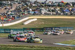 Omar Martinez, Martinez Competicion Ford, Guillermo Ortelli, JP Racing Chevrolet, Mauro Giallombardo