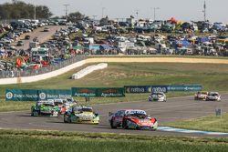 Guillermo Ortelli, JP Racing Chevrolet, Omar Martinez, Martinez Competicion Ford, Mauro Giallombardo