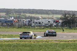 Guillermo Ortelli, JP Racing Chevrolet, Omar Martinez, Martinez Competicion Ford