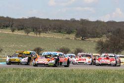 Guillermo Ortelli, JP Racing Chevrolet, Leonel Pernia, Las Toscas Racing Chevrolet, Mariano Werner,