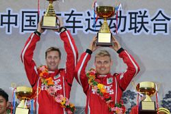 Winners Pontus Tidemand and Emil Axelsson, Team MRF