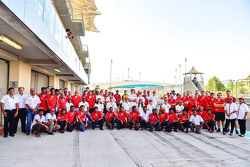 MRF Racing Team group photoshoot