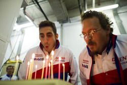 Sebastien Buemi, Toyota Racing birthday celebration