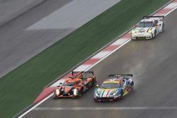 #71 AF Corse Ferrari 458 GTE: Davide Rigon, James Calado and #28 G-Drive Racing Ligier JS P2: Ricard