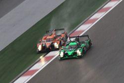 #31 Extreme Speed Motorsports Ligier JS P2: Ed Brown, Jon Fogarty, Johannes van Overbeek and #28 G-D