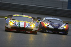 #71 AF Corse Ferrari 458 GTE: Davide Rigon, James Calado and #72 SMP Racing Ferrari 458 GTE: Andrea