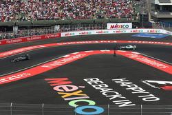 Nico Rosberg, Mercedes AMG F1 W06 and Lewis Hamilton, Mercedes AMG F1 W06