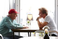 Nico Rosberg, Mercedes AMG F1 avec Niki Lauda