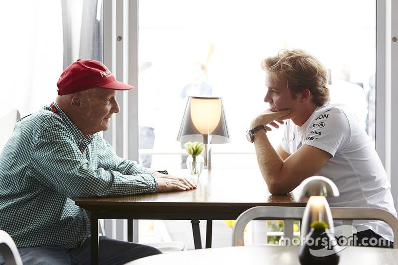 Nico Rosberg, Mercedes AMG F1 con Niki Lauda