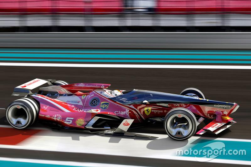 Unabhängige Formel-1-Designstudie (2015)
