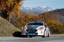 Bruno Magalhaes e Hugo Magalhaes, Peugeot 208 T16 Delta Rally