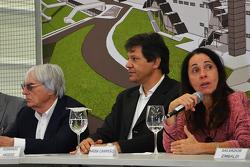Ecclestone, Haddad y Nadia Campeão
