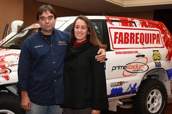 Equipa Padock: Francisco Pita and Ines Pereira