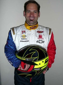 Petersen Motorsports/White Lightning Racing: Michael Petersen displays his new MOMO Dakar-specific driving suit and new, black helmet for the 30th Annual Euromilh_es Dakar 2008