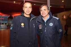 Carlos Sousa y Carlos Sainz