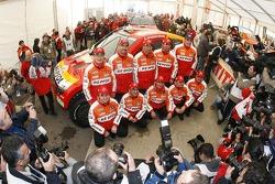 Repsol Mitsubishi Ralliart Team: Nani Roma y Lucas Cruz Senra, Luc Alphand y Gilles Picard, Stephane