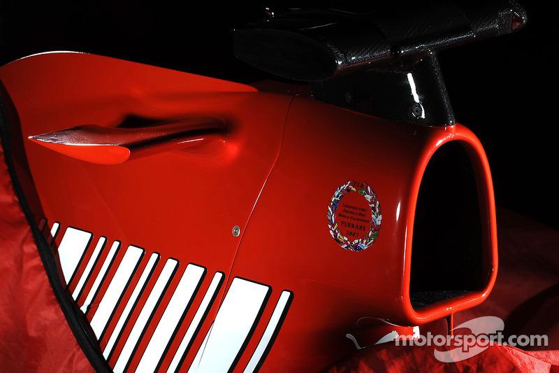 Teaser picture, yeni Ferrari F1 2008 contender