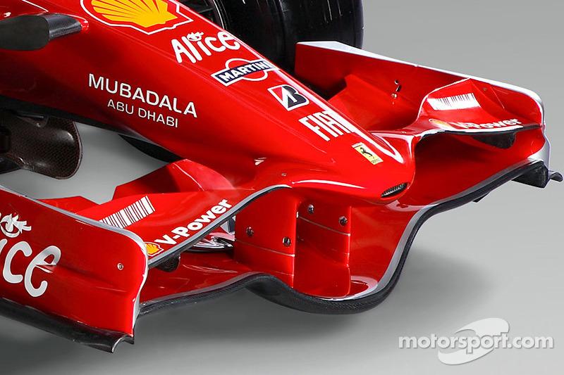 detay, yeni Ferrari F2008