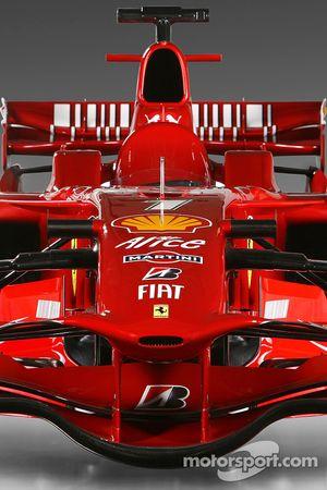 Detalle del Ferrari F2008 de 2008