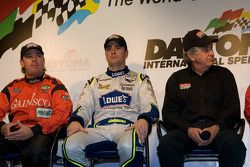Bob Stallings/ Riley-Matthews press conference: Jimmy Vasser, Jimmie Johnson and Bob Stallings