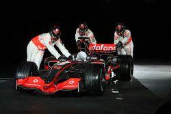 Der neue McLaren Mercedes MP4-23