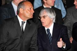 Ron Dennis y Bernie Ecclestone