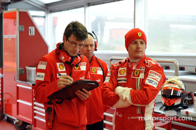 Chris Dyer and Kimi Raikkonen