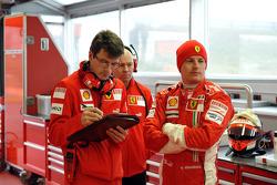 Chris Dyer and Kimi Raikkonen