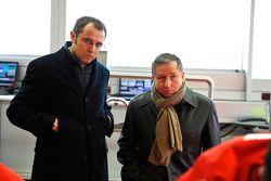 Stefano Domenicali ve Jean Todt