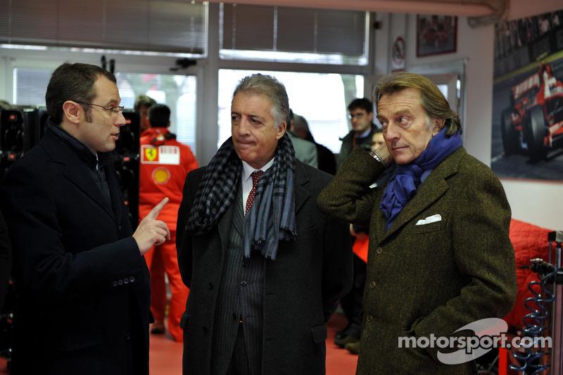 Stefano Domenicali, Piero Ferrari ve Luca di Montezemolo