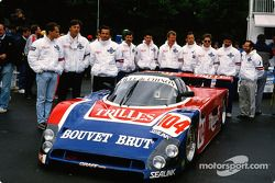 #104 Spice Engineering Spice SE 89 C Ford: Jean-Philippe Grand, Rémy Pauchovin, Jean-Luc Roy