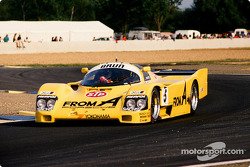 #5 Brun Motorsport Porsche 962 C: Harald Grohs, Sarel van der Merwe, Akihido Nakaya