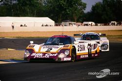 #2 Silk Cut Jaguar Jaguar XJR9 LM: John Nielsen, Andy Wallace, Price Cobb