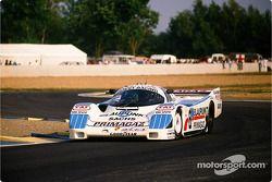 #8 Joest Racing Porsche 962 C: Клод Балло-Лена, Анри Пескароло и Жан-Луи Риччи