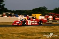 #33 Takefuji Team Schuppan Porsche 962 C: Jean Alesi, Wil Hoy, Dominic Dobson