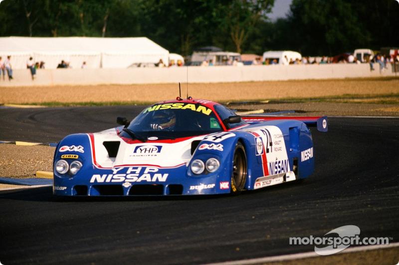 Nissan Motorsport Nissan R 89 C : Julian Bailey, Mark Blundell, Martin Donnelly