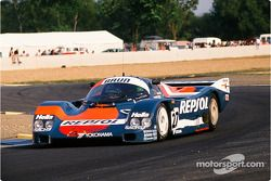 #27 Brun Motorsport Porsche 962 C: Franz Konrad, Rodolf Seher, Andrés Vilariño