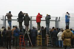 Fotoğrafçılar,shoot, perimeter fence