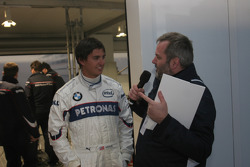 Graham Rahal ve MC Steve Matchett